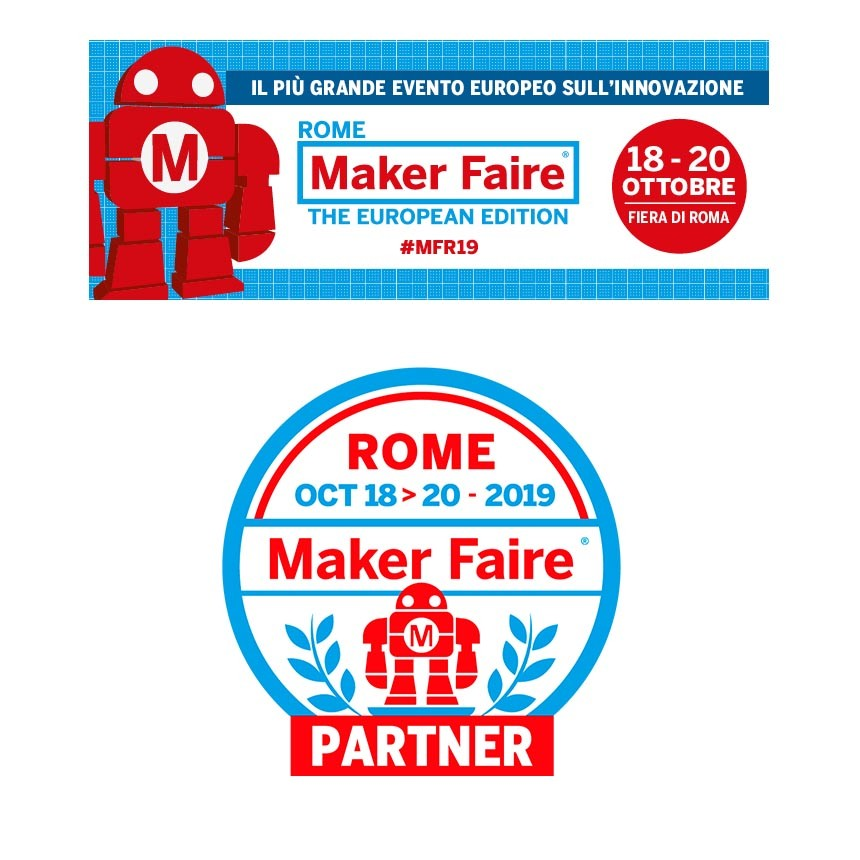 MAKER FAIRE 2019 - ROME 18-20 October 2019 - Hall.8